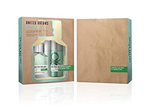 United Colors Of Benetton United Dreams Be Strong Eau De Toilette 100Ml + Deodorant Spray 150Ml
