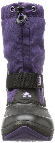 Kamik  SHADOW4G, Bottes de neige de hauteur moyenne, doublure chaude mixte enfant Violett (eggplant EGG)
