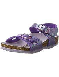 Huhua Sandals For Boys, Sandali Bambine Rosso rosso 38-38.5 EU, Viola (Purple), 29 EU