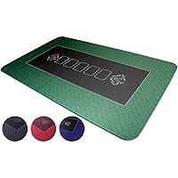 Profi Pokermatte in 100 x 60cm von Bullets Playing Cards für den eigenen Pokertisch - Deluxe Pokertuch – Pokerteppich – Pokertischauflage – ideal als Geschenk