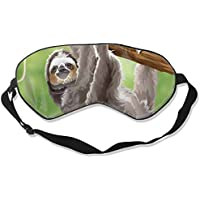 Natural Silk Eyes Mask Sleep Sloth in Jungle Rainforest Blindfold Eyeshade with Adjustable for Travel,Nap,Meditation... preisvergleich bei billige-tabletten.eu