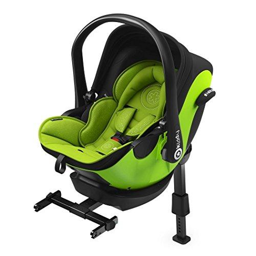 kiddy 41940EL097 Kindersitz I-Size inklusive Isofix Base 2 Lime, grün