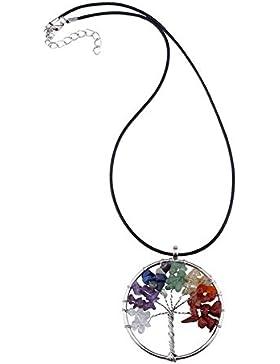 Designer Kette Schmuck Necklace schlichte Damenkette Gliederkette mit Verzierungen Edelsteinschliff