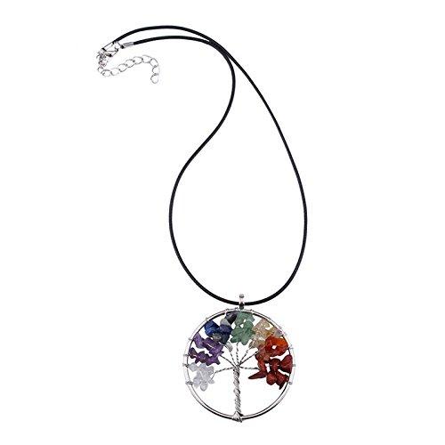 Damenkette Necklace Traumfänger Style Kristallschliff Edelsteinverzierung für Party Dates Hochzeitstag Geburtstagsgeschenk
