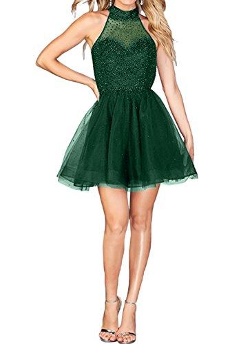 Ivydressing -  Vestito  - linea ad a - Donna Verde
