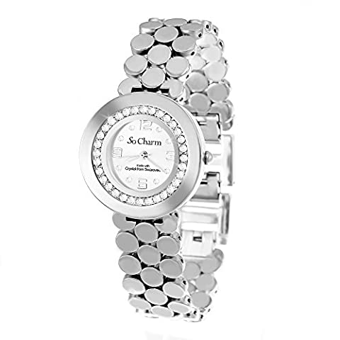 Charms Montre - Montre femme bracelet argenté So Charm made
