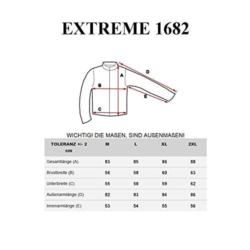 BOLF – Veste – Fermeture éclair – EXTREME 1682 – Homme Kaki