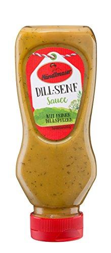 Händlmaier's Feinkost-Sauce Dill-Senf, 8er Pack (8 x 225 ml)