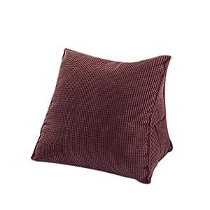 HALOViE Dreieck Kissen Rücken Keil Kissen Sofa Bett Bürostuhl Rest Kissen Rücken Unterstützung Throw Pillow