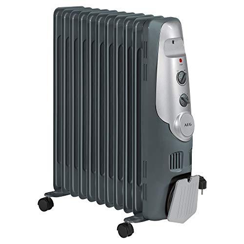 AEG RA 5522 - Radiador de aceite, 2200 W, 11 elementos, termostato,...