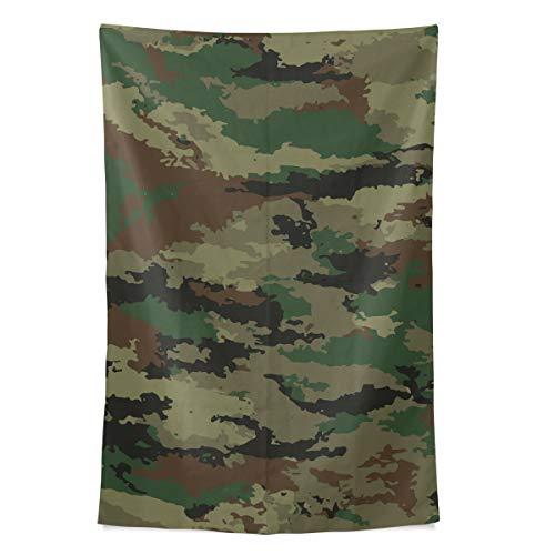 Camouflage Protective Military Cool Style Wandteppich Wandbehang Cool Post Print Für Wohnheim Home Wohnzimmer Schlafzimmer Tagesdecke Picknick Bettlaken 80 X 60 Zoll