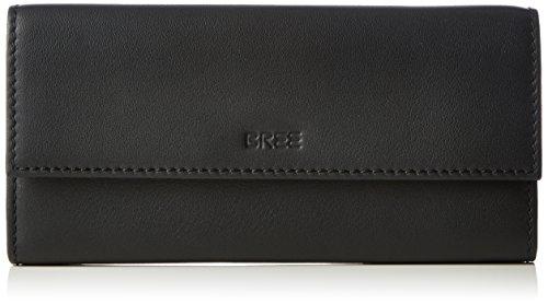 BREE Unisex-Erwachsene Liv 110 Geldbörsen Schwarz (black smooth 909)