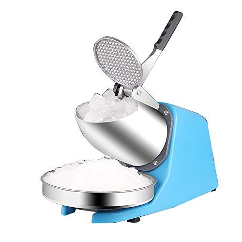 350w 187lb / H Dual Edelstahl Klinge Elektrorasierer Maker Crusher Schneekegelmaschine Für Gewerbliche Teestube Und Wohnküche