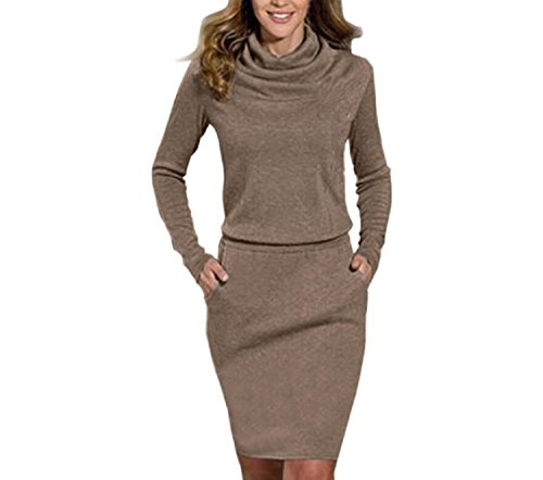 tonwalk-womens-dress-package-hip-slim-mini-business-cocktail-dresses-m-brown