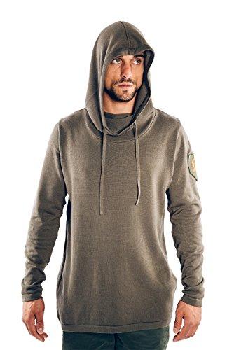 Musterbrand-Destiny-Strick-Pullover-Herren-Nightstalker-Strick-Sweatshirt-Grn