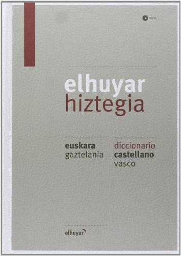 Elhuyar Hiztegia Eus/gaz - Cas/vas (4. Ed.) (Hiztegiak Eta Mapak) por Batzuk