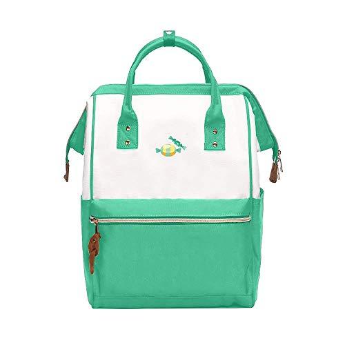 Süße Junior High School Student Bag weiblichen Umhängetasche koreanische Version des einfachen Mädchen Rucksack Casual Computer Bag Tide -