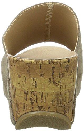 Andrea Conti Damen 1541501 Pantoletten Braun (Taupe)