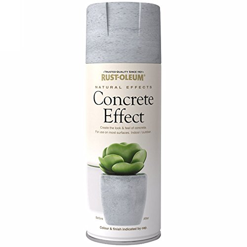 Rust-Oleum Effekte Natural Spray Paint Beton Effekt Finish–400ml (Spray-holz-finish)