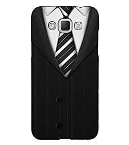 Fuson Designer Back Case Cover for Samsung Galaxy Grand Max G720 (A Gentleman Wear Theme)