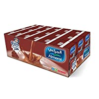 حليب نجوم يو اتش تي بطعم الشوكولا من المراعي، 150 مل (18 عبوة)