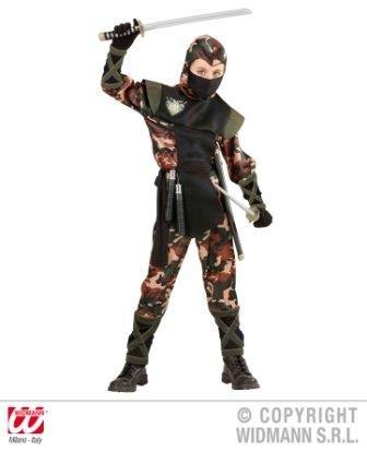 Ninja Kämpfer Kostüm Kinder Gr. 158