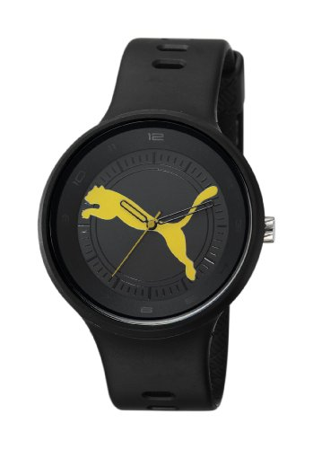 Puma Time Herren-Armbanduhr XL Slick - Big Cat Analog Quarz Plastik PU910871002 (Puma Slick)