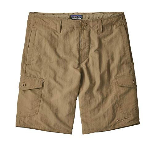 Patagonia M 'S Stretch Herren Walk 20in, Shorts XL grün (Mojave Khaki) - Stretch-shorts Khaki