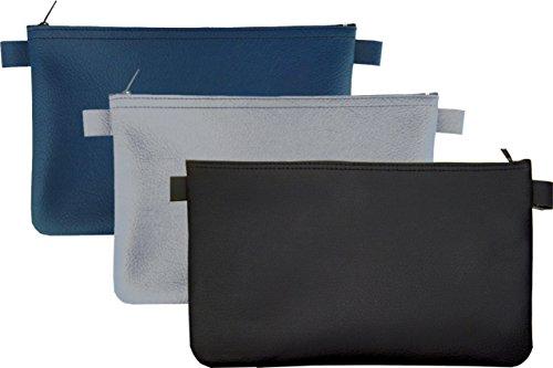 nstleder (je 1 x blau, 1 x grau, 1 x schwarz) ()