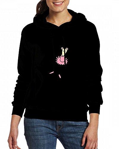 Ballet Mouse Womens Hoodie Fleece Custom Sweartshirts Black
