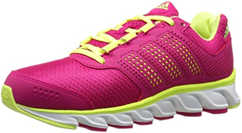 adidas Performance Powerblaze 2 K Pink/Green/White, Running Shoe (Little Kid/Big Kid), Pink/Green/White, K 1.5 M US Little Kid 645547