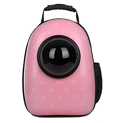 YCYHMYF Pet Products Brust Rucksack Pet Space Rucksack Pet Space Rucksack Pink