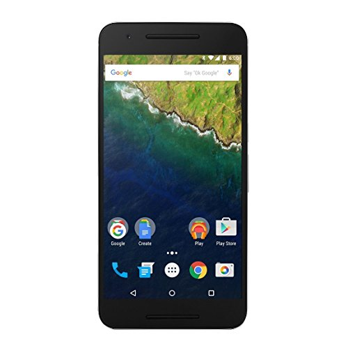 "Huawei Nexus 6P - Smartphone de 5.7"" (Amoled QHD, Qualcomm Snapdragon 810 1.5 GHz, 3 GB RAM, cámara de 13 MP/8 MP, memoria interna de 32 GB, Android 6.0), plateado (Reacondicionado Certificado)"