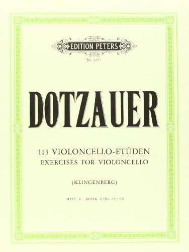 113 Violoncello-Etüden - Heft 2: Nr. 35 - 62