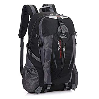 41i9Bcm3Q8L. SS324  - Hoovo Senderismo Mochila Grande Ligero Bolsa de 40l Impermeable para Camping Ciclismo Running Deportes al Aire Libre