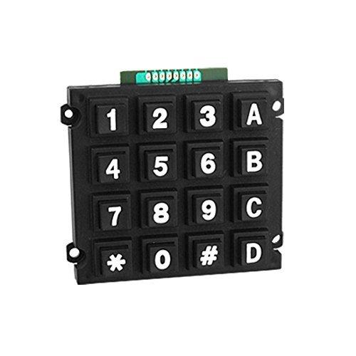 Office Standard Desk Phone Dialer Austauschbare Zahl-Tastatur Standard Desk Phone