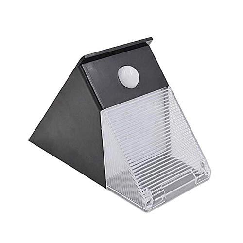 12 LED Solarleuchten für den Außenbereich, Kabellos Einfach zu installierende Bewegungsmelder Solar Sicherheitsleuchten Scheinwerfer Flutlicht für den Garten im Hinterhof Patio und Weg -