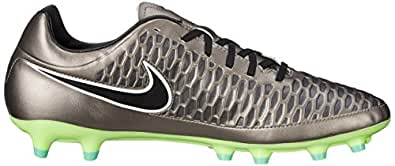 Nike Men's Magista Onda Fg Mtlc Pewter/Black/Ghst Grn/Wht Soccer Cleat 10 Men US