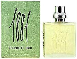 Cerruti 1881 Pour Homme Eau de Toilette Spray, 1er Pack (1 x 100 ml)