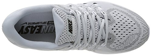 Nike Air Zoom Vomero, Running Homme Argent (Pure Platinum/Black White)