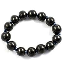 Gems & JewelShungite Round Beads Bracelet the Nutural Gemstone Bracelet