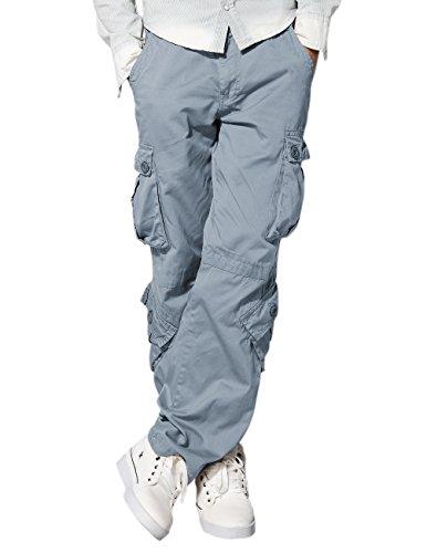 Match Herren Cargo hose #3357(3357 Blaulich grau,30W x Regular (DE 40))
