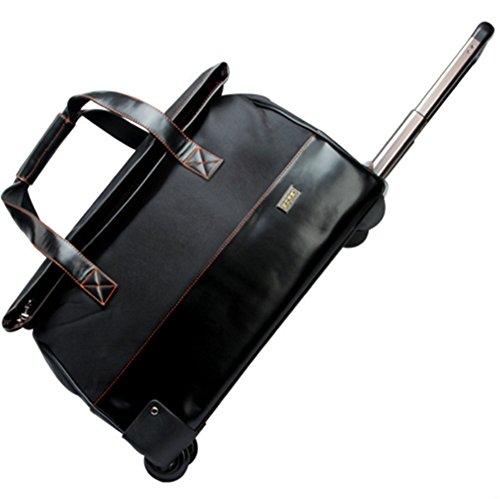 YAAGLE 20 Zoll Handgepäck Trolley Koffer wasserdichte Reisetasche tragbare koffer größes Handgepäck schwarz
