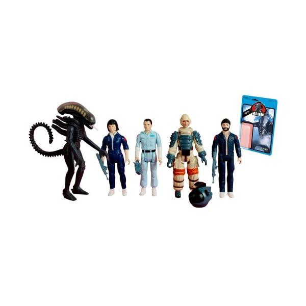 Alien - 3.75inch Action Figure: Reaction Series 1 (5pcs) by Super 7 1