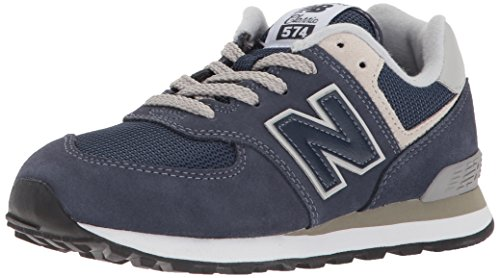 New Balance Pc574v1, Unisex-Kinder Sneaker, Blau (Navy), 32 EU (13 UK)