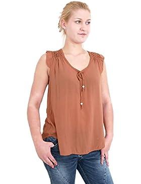 Minetom Mujer Otoño Moda Lado Tejer Cordón Camisetas De Manga Larga Atractivo Delgado Crop Top Color Sólido Pullover