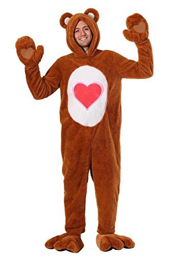 Care Bears Deluxe Tenderheart Bear Fancy Dress Costume Medium