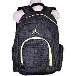 Nike Air Jordan Jumpman 23Mochila para portátil libro Bag-Black/amarillo
