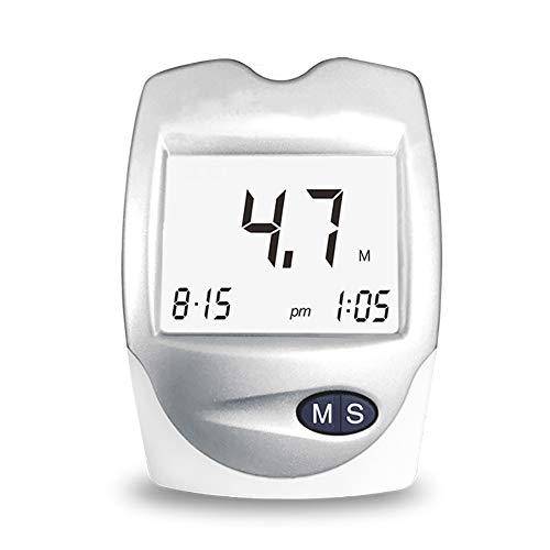 ZZYYZZ Misuratori Colesterolo, 3 in 1 misuratore di Zucchero nel Sangue/Acido urico/colesterolo Home Tre Monitor Alti +10 Strisce reattive al colesterolo