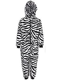 Pijama Infantil de una Pieza - Estampado de Cebra